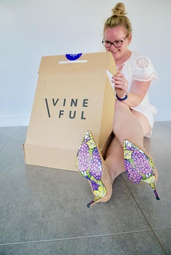 Getting Stuck into my Vineful Wine Delivery
