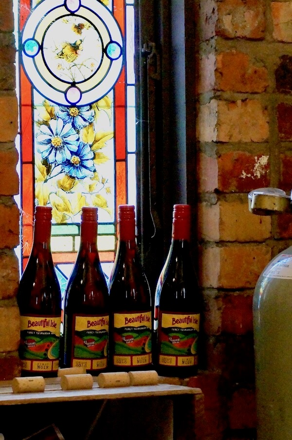 Beautiful Isle Wines - Stained Glass Window - Tasmania