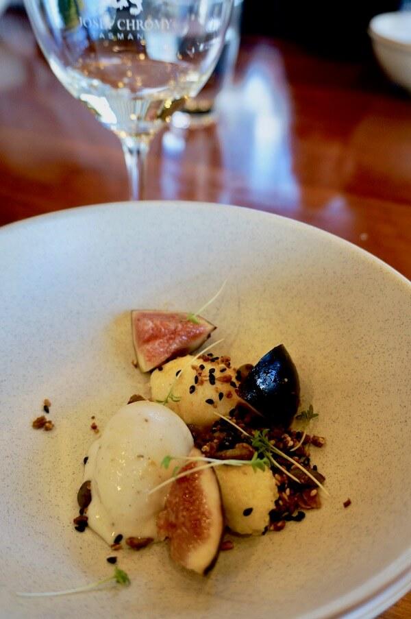 Dessert - 4 Course Menu - Josef Chromy Tasmania