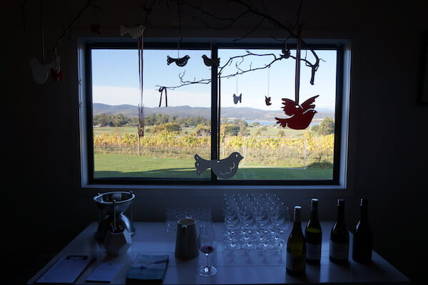 Inside the Stoney Rise Cellar Door - Tamar Valley Tasmania