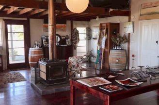 Inside the Zarephath Cellar Door and Cafe