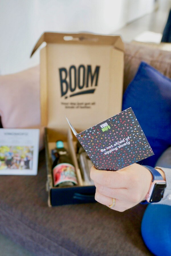 Vinomofo - The Mofo Welcome Pack Card
