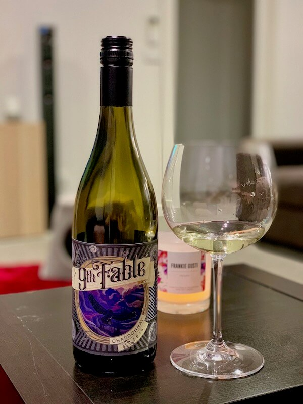 9th Fable by Usher Tinkler Hunter Chardonnay 2019