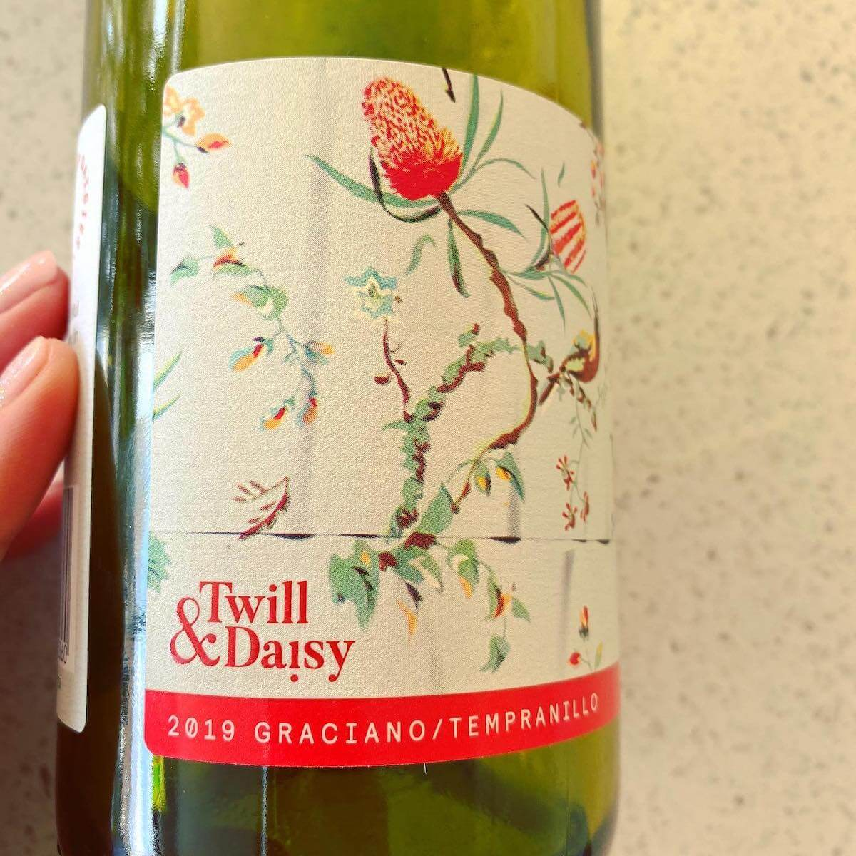 Twill and Daisy 2019 Graciano Tempranillo