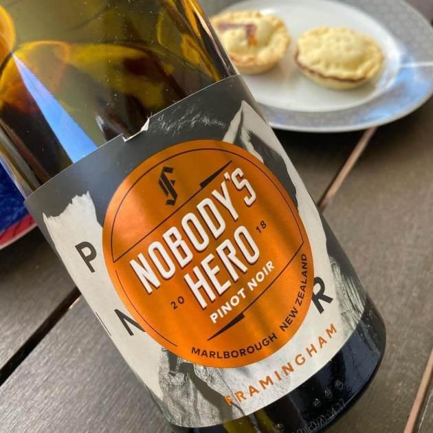 Framingham Nobody's Hero 2018 Pinot Noir