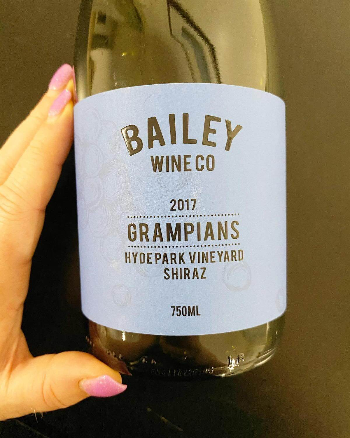 Bailey Wine Co 2017 Grampians Shiraz
