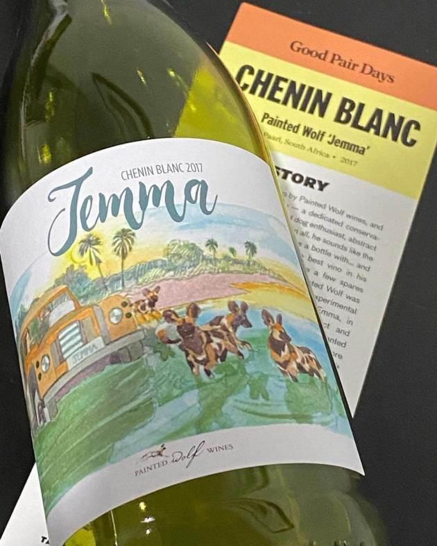 Painted Wolf Wines 'Jemma' Chenin Blanc 2017