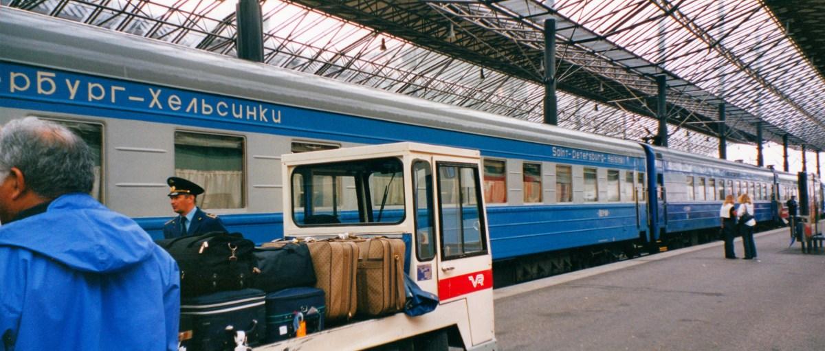 train to st peterersburg