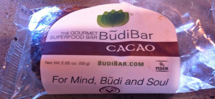Budi Bar - Rich in prebiotic dietary fibre