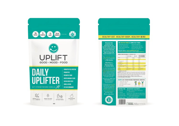 Uplift Food Daily Uplifter - The best prebiotic fibre and resistant starch food product.