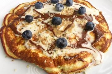 banana prebiotic pancake