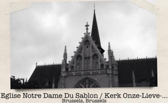 Notre Dame du Sablon, Bruselas