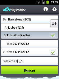 caputra app skyscanner android