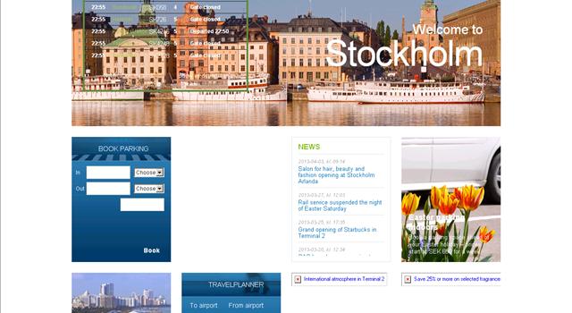 Datos prácticos sobre el aeropuerto de Arlanda en Estocolmo