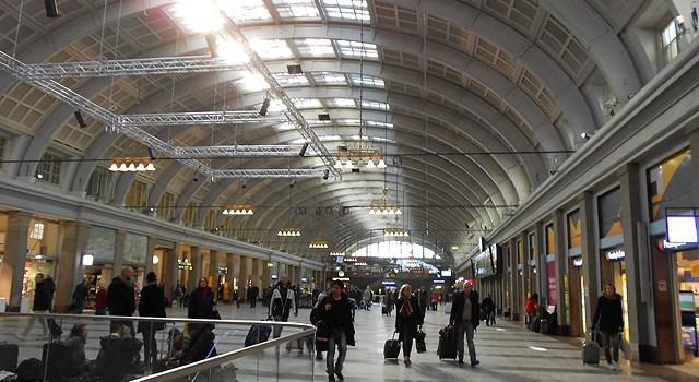 Como llegar desde Estocolmo al Aeropuerto de Copenhague en tren