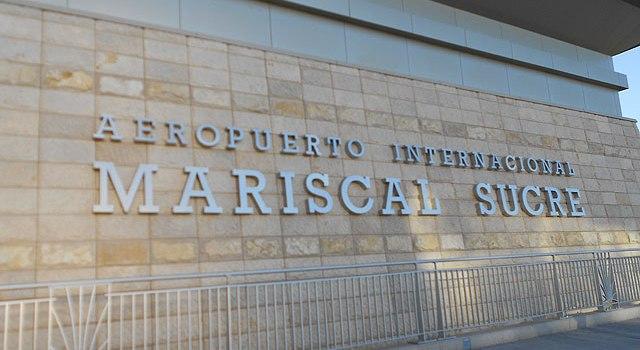 Datos prácticos del Aeropuerto de Quito
