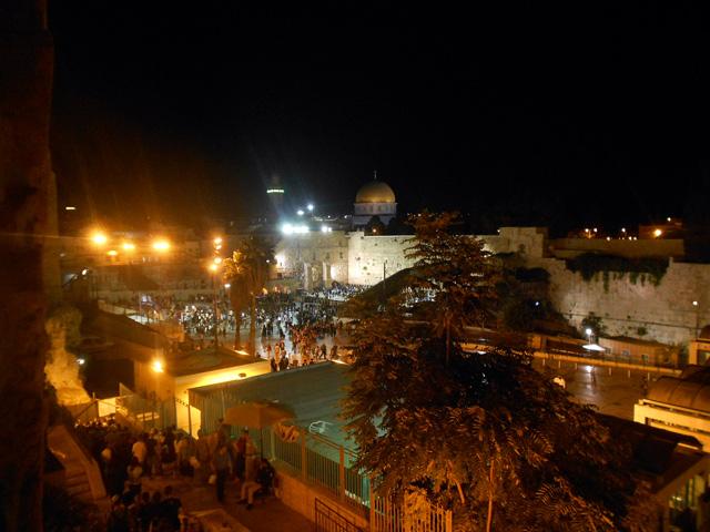 israel-10-dias-1-muro-de-las-lamentaciones-de-noche
