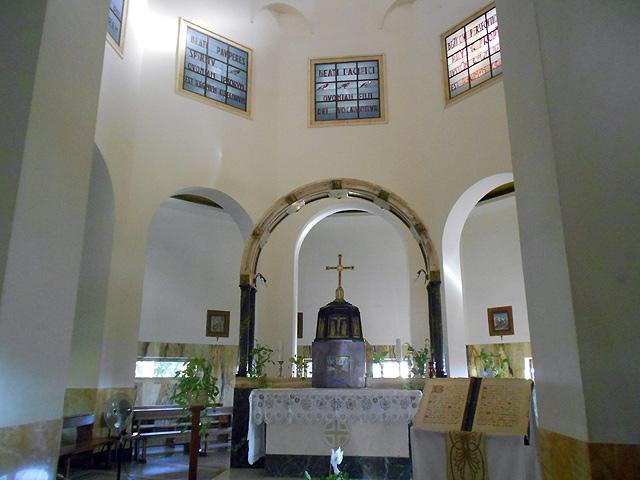 Iglesia Monte Bienaventuranzas, Israel