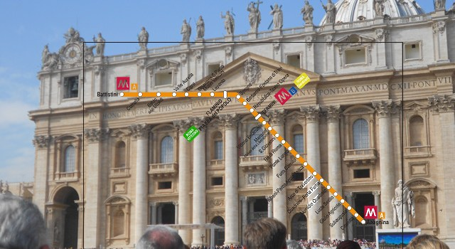 Recorriendo Roma con la línea de metro A