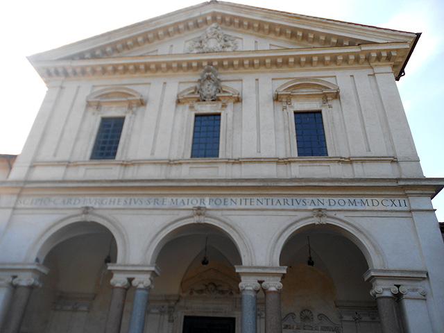 Exterior Basílica Sebastiano