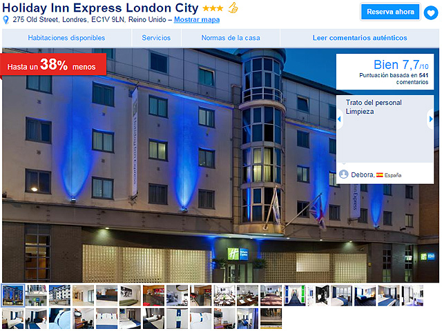 london-city-booking