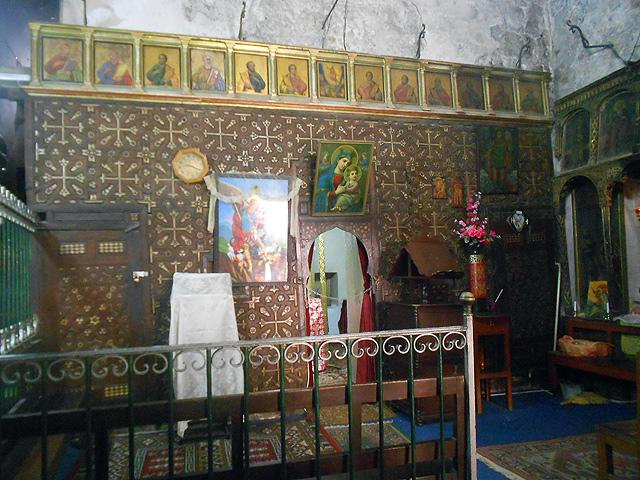 Monasterio Etíope de Deir Al-Sultan en la Basilica del Santo Sepulcro