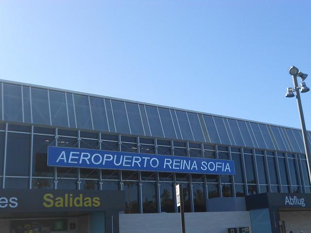 aeropuerto tenerife sur
