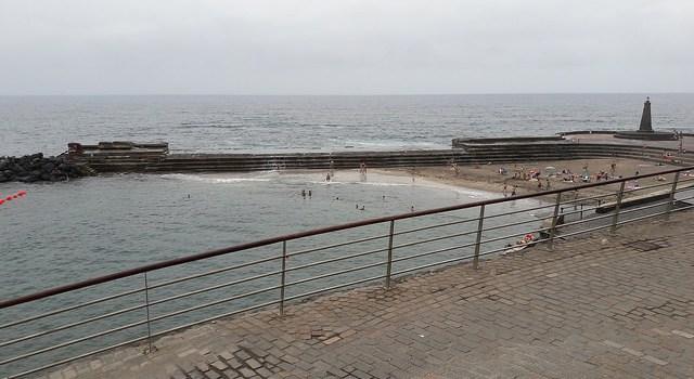 Un día de playa en Bajamar desde La Laguna