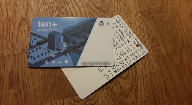 Tenmas, la nueva tarjeta para las guaguas en Tenerife