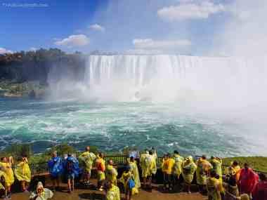 Le spettacolari cascate del Niagara