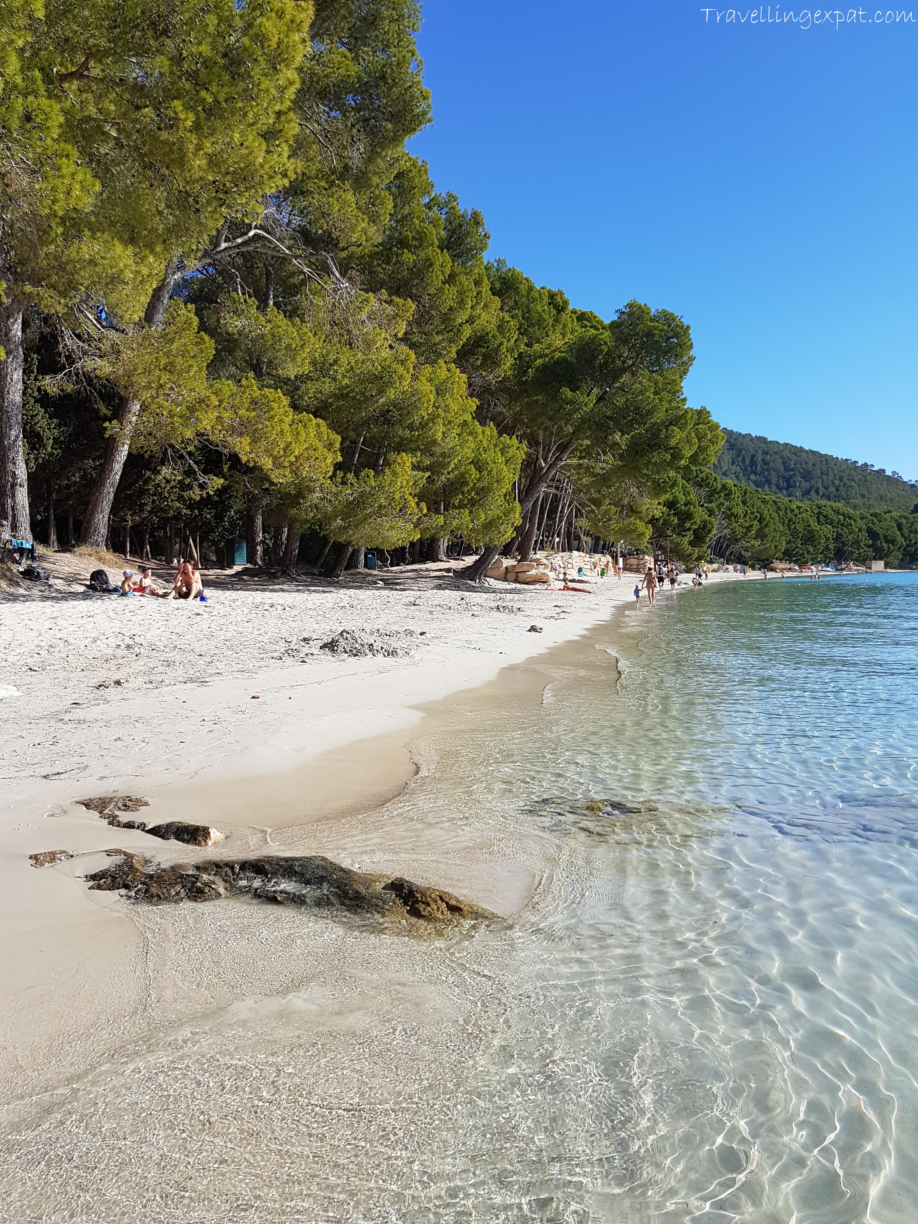 Playa de Formentor Maiorca