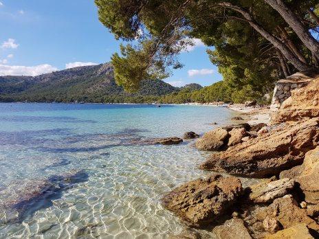 Playa de Formentor in novembre