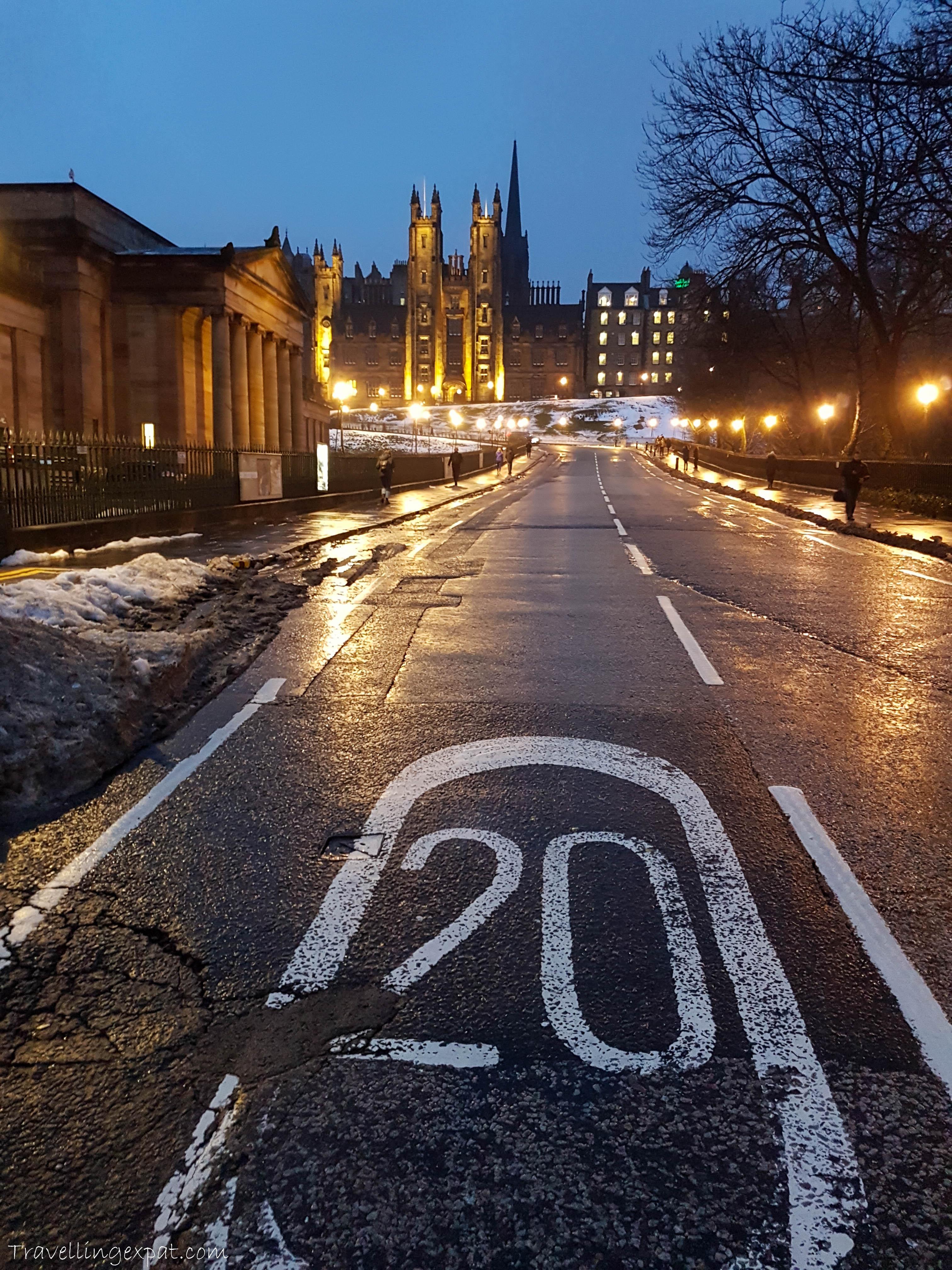 Edimburgo by night