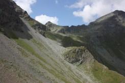 Il diagonale da Vascotchaz a Col di Nana
