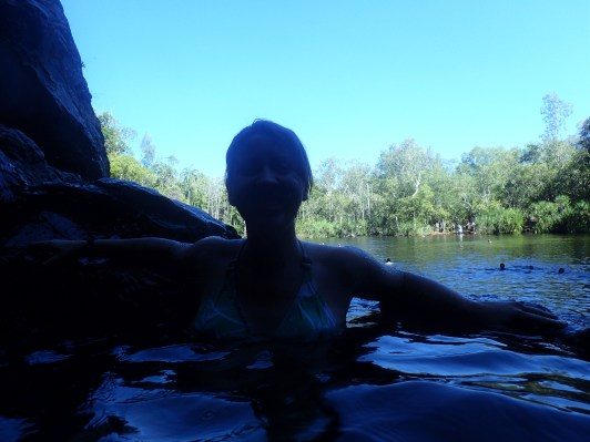Rock Pool at Wangi Falls
