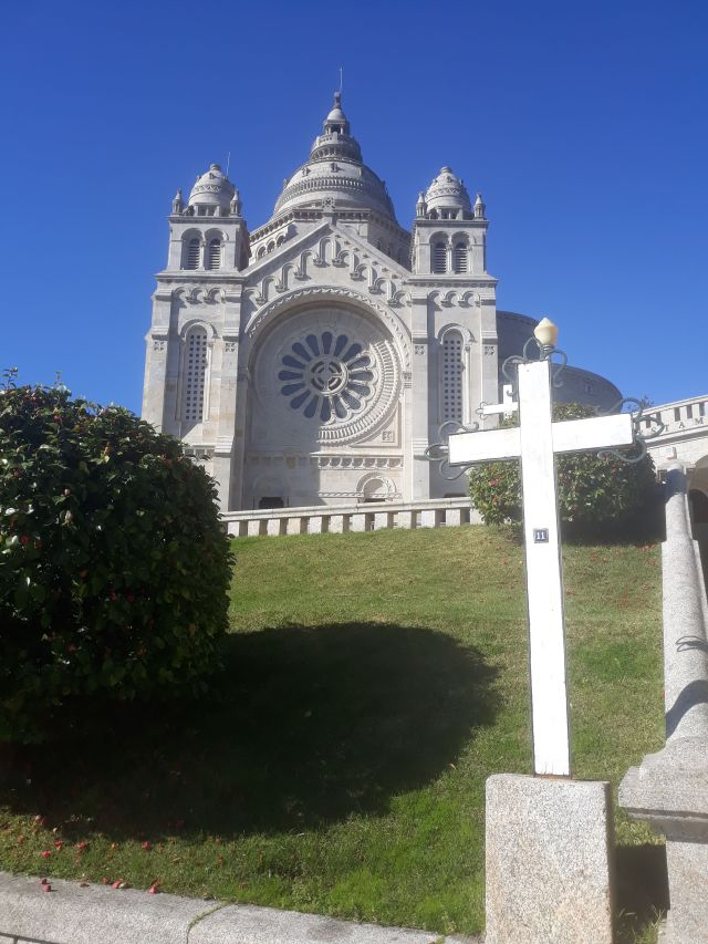 Santuario de Santa Luzia in Viana do Castelo in Portugal