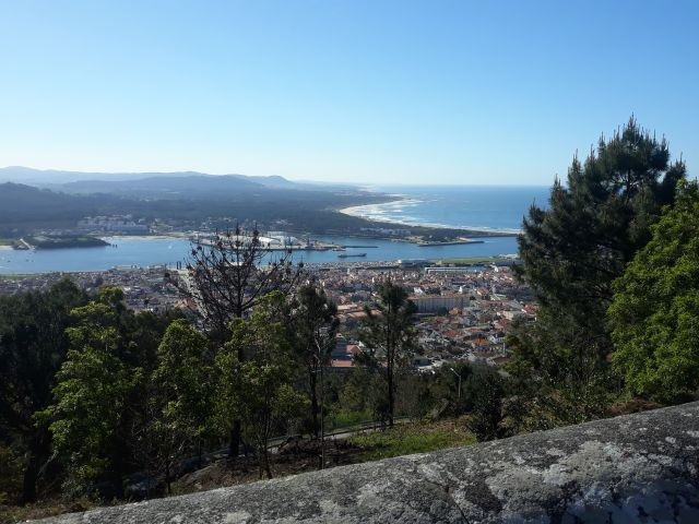 The stunning view from the sanctuary in Viana do Castelo in Portugal