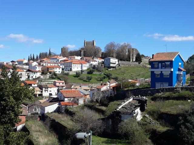 The beautiful city of  Bragança in Portugal