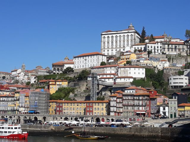 Ribeira district in Porto in Portugal