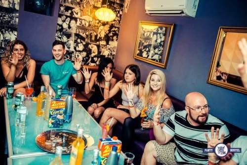 Greg and Tom's party hostel Krakow Poland