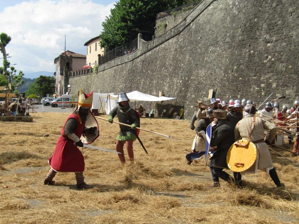 the battle of Barga