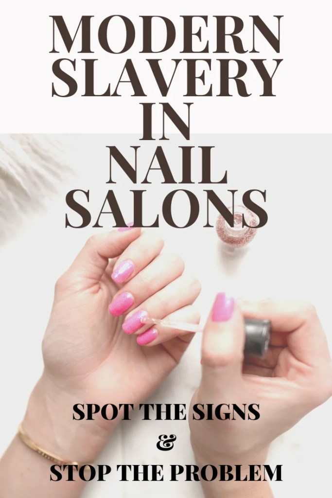 modern slavery Vietnamese nail salons
