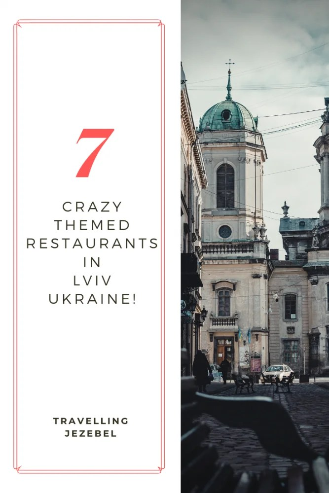 7 Unique Restaurants in Lviv Ukraine - By far my favourite thing about Lviv, Ukraine, was the abundance of quirky and unique restaurants, coffee shops and bars dotted around the city. During my time in Lviv, I tried to visit as many as I could, and my trip became a very gastronomical expedition indeed! #easterneurope #foodblogger #Lviv #ukraine