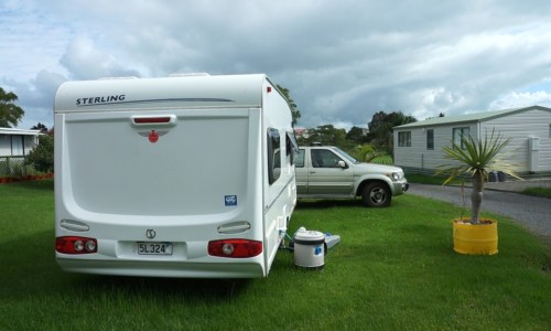 Getting the caravan ready for off-grid living