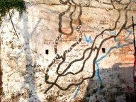 wall map Darjeeling