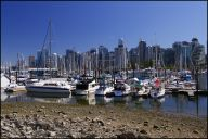 Vancouver Stanley Park boats