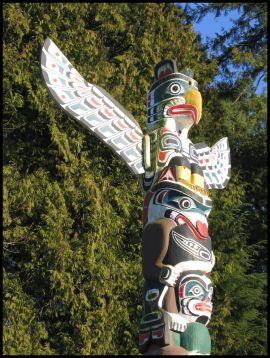 Vancouver Stanley Park totem pole