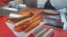 Nice hotdogs here