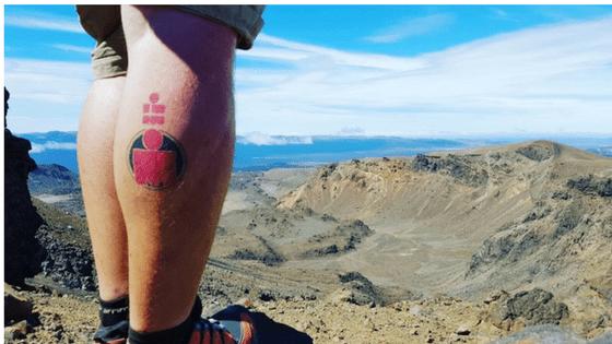 ironman New Zealand tongariro crossing Taupo tattoo