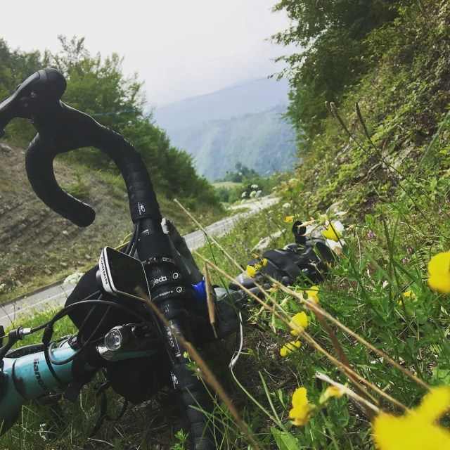 The naked truth about sobriety - Bianchi Intenso, somewhere in the Alps